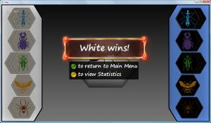 White wins!
