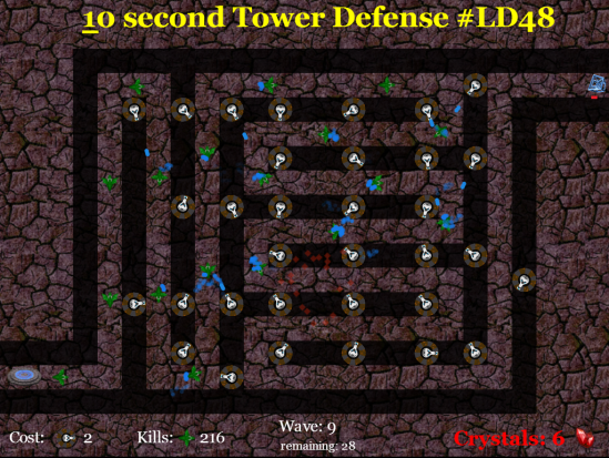 10 Second Tower Defense
