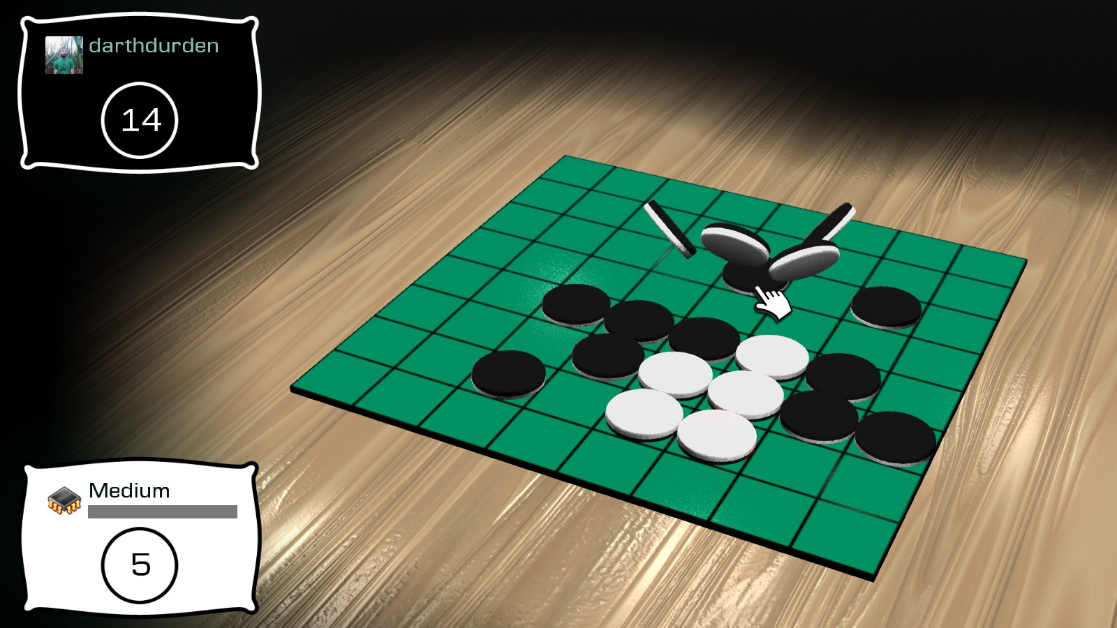 Reversi on Steam